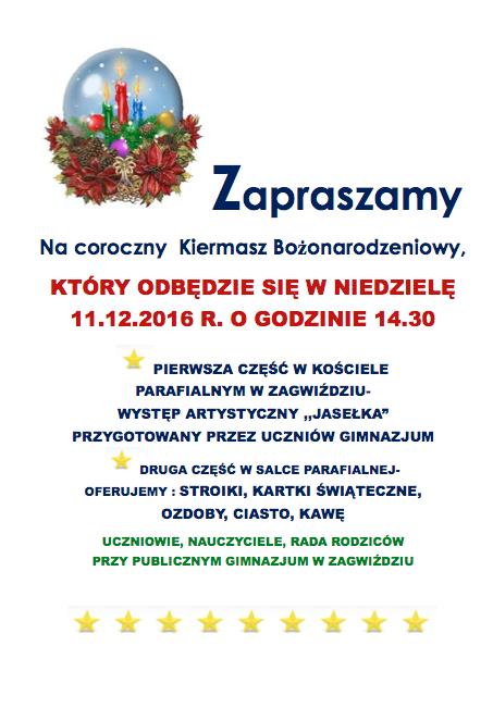 Plakat_Coroczny Kiermasz Bożonarodzeniowy_2016.png
